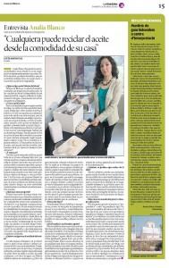 Publicación en Diario de Mallorca