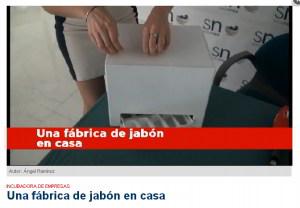 Una Fabrica de Jabon en Casa